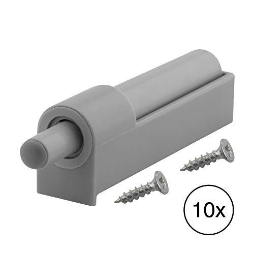 LouMaxx Softclose Tür dämpfer 10er Set – Möbel Dämpfer und Softclose Dämpfer für Küchenschrank/Schrank zum Softclose nachrüsten