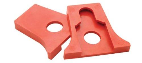 Shop Fox D3233Klemme Pads für 3/4-Zoll-Rohrschelle
