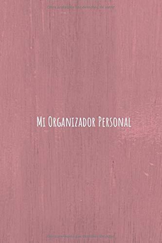 Mi Organizador Personal: Haz que Suceda | Diario Personal con Distintas Secciones