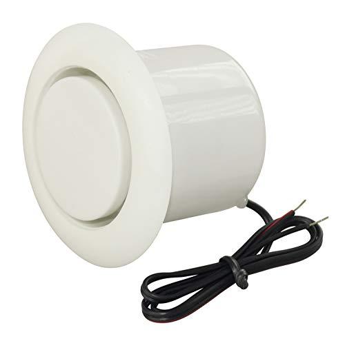 Sirene Piezo Alarmgeber Alarmmelder Einbau Signalgeber ca. 110 dB