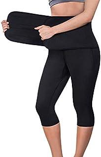 Bonvie Neopren bastubyxor svettbyxor träningsoverall svettbälte svettband fitness jogging termisk effekt viktminskning