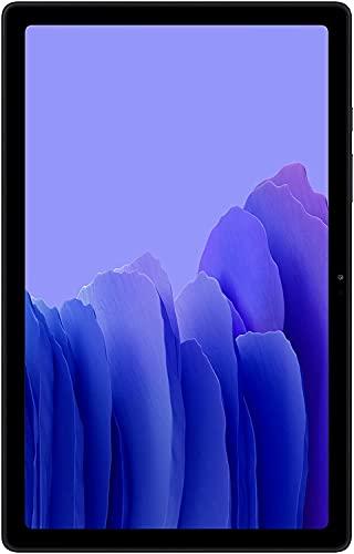 """Samsung Galaxy Tab A7 10.4"""" 64GB with Wi-Fi + 128GB microSD Memory Card (Gray)"""