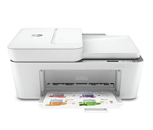 HP DeskJet Plus 4120 - Impresora multifunción con Wi-Fi de Doble Banda y restablecimiento automático e Bluetooth 4.2