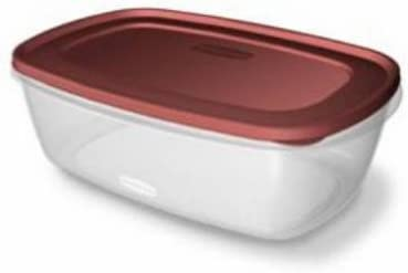 Rubbermaid 2049363 Easy-Find Lid Food Storage Container, 2.5-Gal