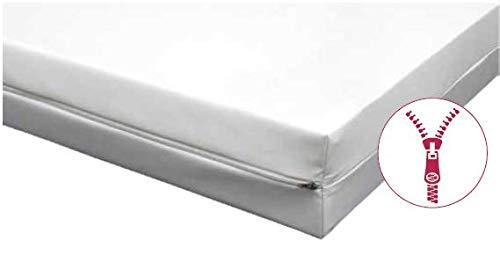 Clinotest Ganzbezug für Matratzen aus PU, 2-Seitig mit Reißverschluss, 90x200x12 cm, wasserfester Bezug