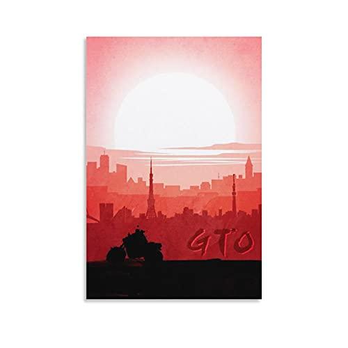 rongtao GTO Poster décoratif sur toile pour salon, chambre à coucher 30 x 45 cm