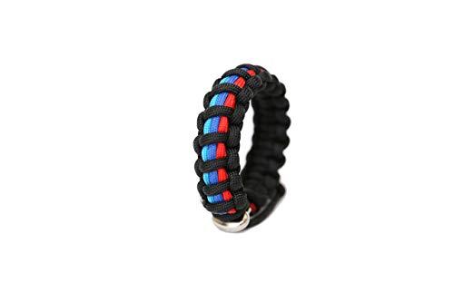 M Series Mens Jewelry Paracord Survival Bracelet