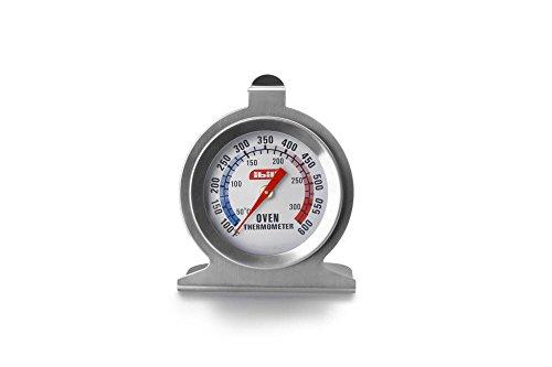 Ibili 743400–Termómetro para horno, 7x 6cm, plata/blanco, 1 unidad
