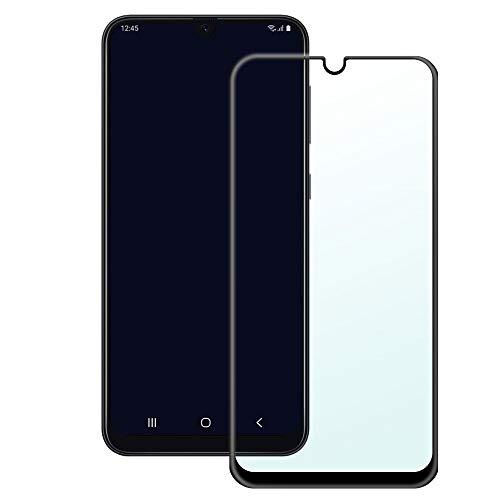 AJ-cover Displayschutz für Samsung Galaxy A50 Full Cover Curved 5D Panzerglas, superharte und passgenaue Glasfolie mit kompletter Abdeckung
