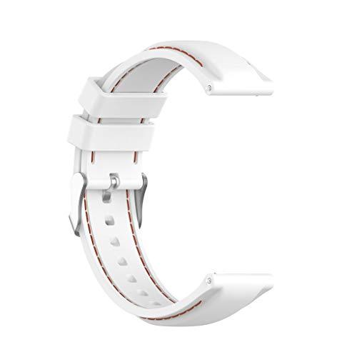 Hotpink1 Correa de repuesto universal de 22 mm de silicona para reloj deportivo para -TicWatch Pro 3 GPS Smart Watch y más relojes
