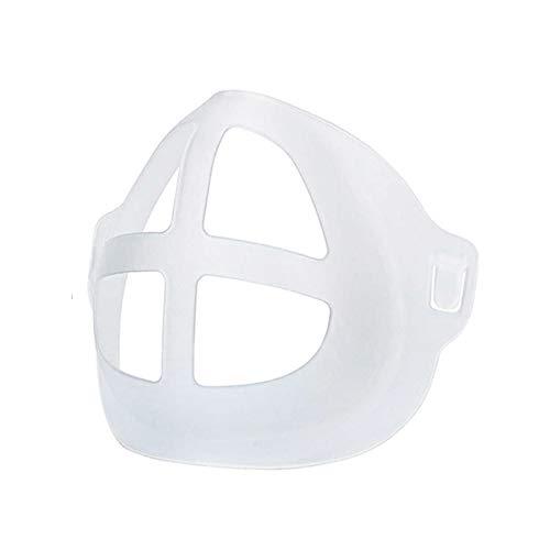 Soporte 3D Soporte Interior Soporte de Protección de la boca y la nariz Soporte de silicona para una respiración cómoda. Paquete de 5