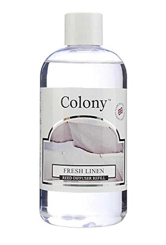 Wax Lyrical Homescents Reed Diffuser Refill, Fresh Linen by Colony