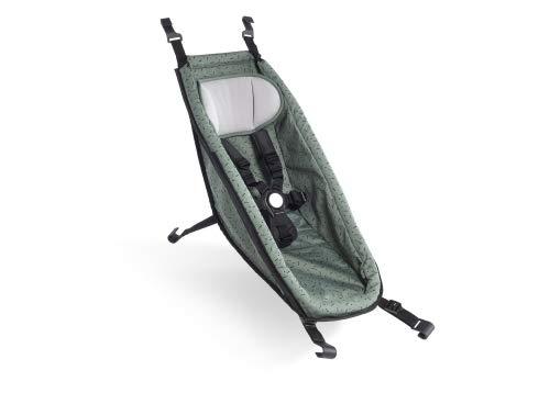 Croozer Babysitz für Kid ab 2014 Jungle Green/Black 2020 Fahrradanhänger