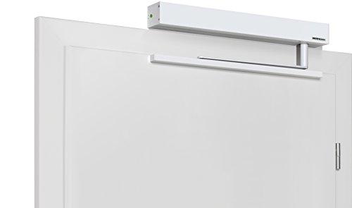 Hörmann 4511903 Türantrieb / Türöffner PortaMatic für 1-flüglige Türen | + Befestigungsmaterial | sehr leise / geringer Energieverbrauch / LED-Beleuchtung / links- rechts verwendbar | Farbe: Weiß