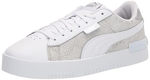 PUMA Women's Jada Sneaker, Silver White, 8.5 thumbnail