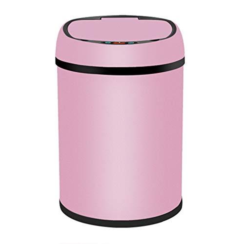 Abfalleimer, Intelligente Automatische Induktions-Mülleimer-Ausgangswohnzimmer-Schlafzimmer-Badezimmer-Wieder Aufladbares Wasserdichtes Umweltfreundliches Innenrecycling Bins-6L, 8L, 12L Mülltonnen