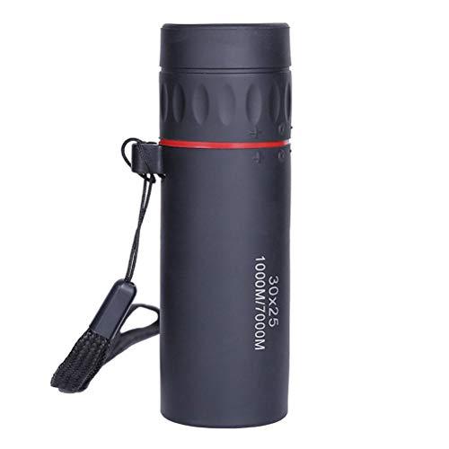 Hihey Mini 30x25 HD Optische Monoculaire Low Night Vision Draagbare Focus Telescoop Zoom 10X scope voor reizen jacht op het spel, concerten, toerisme, kijken dierenliefhebbers