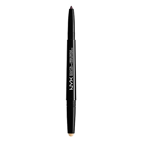 NYX PROFESSIONAL MAKEUP Sculpt & Highlight Brow Contour, Taupe Vanilla, 0.029 Ounce