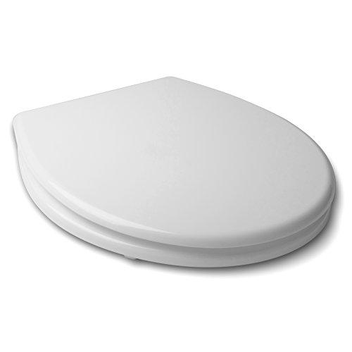Tatay Basic - Asiento y Tapa de WC Universal para el Inodoro. Hecha de Plástico. Medidas (An x L x Al) 36 x 4,8 x 46 cm. Peso de 3 kg Diseño Universal con Acabado Brillante.