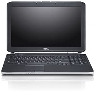Dell Latitude E5520 15.6 LED Notebook Intel Core i5 i5-2520M 2.50 GHz 4GB DDR3 320GB HDD DVD-Writer Intel HD 3000 Graphics Bluetooth Windows 7 Professional 64-bit