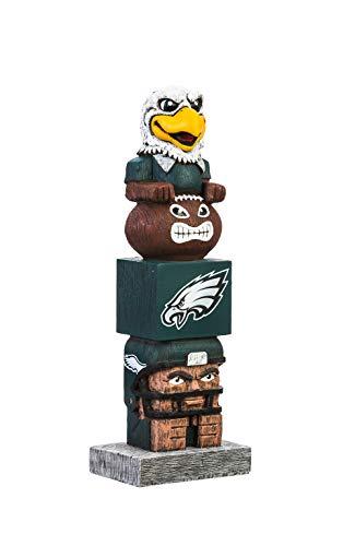 Team Sports America NFL Philadelphia Eagles 16 Inch Tiki Totem