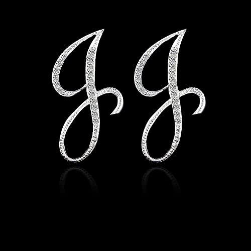 DFDLNL Regalos Pendientes Pendientes 26 Letras Pendientes FiestaRegalosFestivospara Mujer J