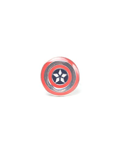 Captain America: Civil War Mov Ring Cival War Shield Red-S