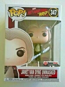 Funko Pop! Marvel ANT-MAN and the WASP Janet Van Dyne Unmasked