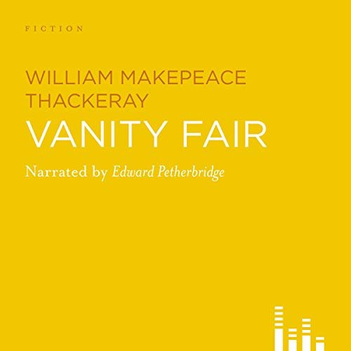 Vanity Fair audiobook cover art