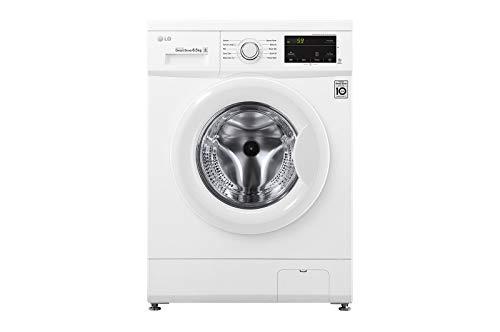 LG FH2J3WDN0 lavatrice Libera installazione Caricamento frontale Bianco 6,5 kg 1200 Giri/min A+++, 600x440x850 mm