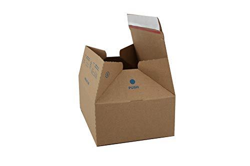 Carte Dozio - Scatole in cartone automontanti per spedizioni - F.to int. mm 213x153x77-25 pz a conf.