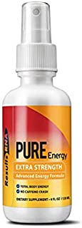 Results RNA Pure Energy Extra Strength Caffeine Free Formula | Long Lasting Energy, with No Side Effects - 2oz Bottle