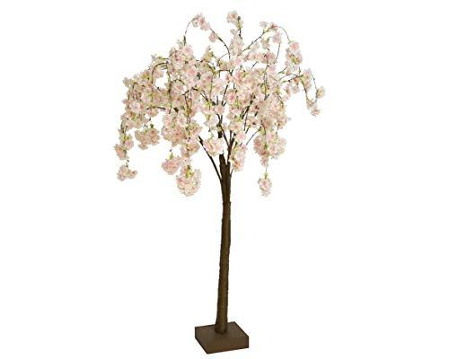 PERAGASHOP Décoration Arbre Cerisier 120 cm Rose Accessoires Décoration Maison Intérieur Extérieur