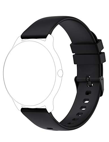 YAMAY Smart Watch Band Replacement Bands Straps for YAMAY SW022 Smart Watch (Black)