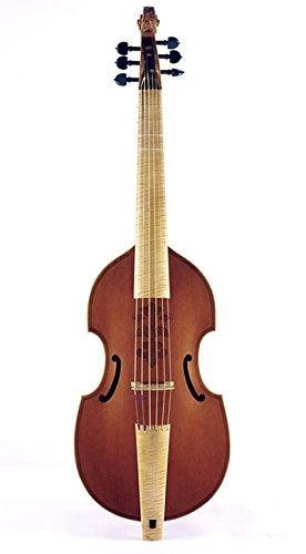 lu-mi Bass Viol después de Barak Norman, 1685, 1692, inc.