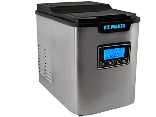 MALATEC Eiswürfelmaschine Ice Maker Eiswürfelbereiter Eiswürfel Zubereiter 2,2 L #5536