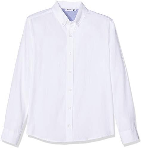 Mexx Jungen Hemd, Weiß (White 110600), 110
