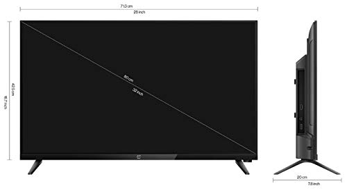 OnePlus 80 cm (32 inches) Y Series HD Ready LED Smart Android TV 32Y1 (Black) (2020 Model) 6
