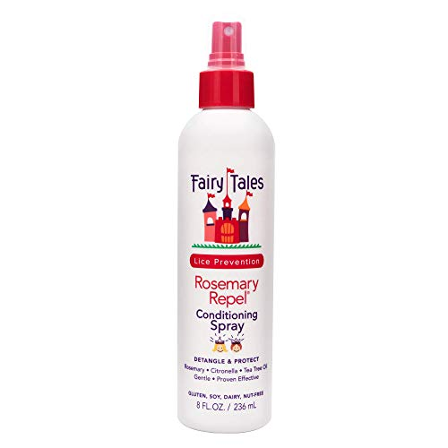 Fairy Tales Rosemary Repel Daily Kid Conditioning Spray- Conditioning Lice Spray for Kids for Lice Prevention, 8 Fl. Oz (Pack of 1)