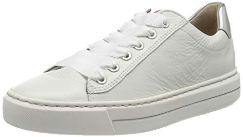 ara Damen COURTYARD 1237428 Sneaker, Weiß (Weiss, Silber 75), 38 EU(5 UK)