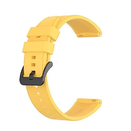 YU-HELLO Correa de reloj deportivo de 22 mm de repuesto para Huawei-Watch Gt2 Pro bandas de reloj para hombres de 24 mm