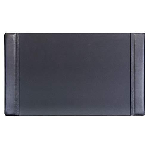 Dacasso Classic Leather Side Rail Desk p...