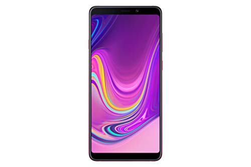 Samsung Galaxy A9 (Single SIM) 128GB 6.3 Inch FHD+ Android 8.0 Oreo UK Version SIM-Free Smartphone – Pink