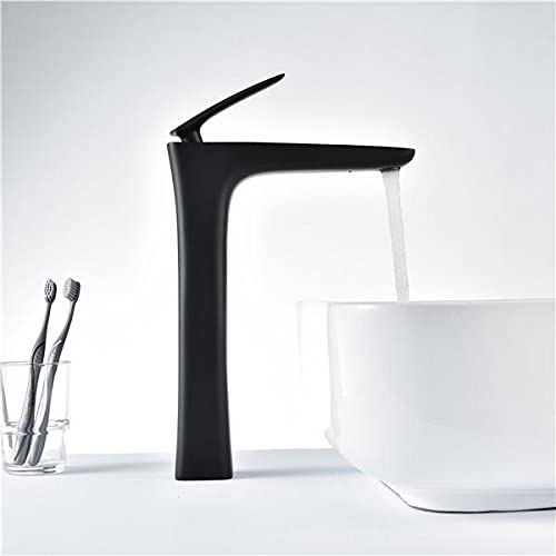 Grifos De Cocina Clásica grifos de cocina economicos Grifo alto Mezclador de latón moderno Grifos de agua para lavabo Grifo de lavabo de diseño elegante Grifo de baño de tubo alto Mezclador