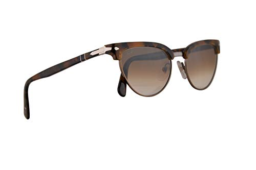 Persol PO3198S Tailoring Edition Sonnenbrillen Tortoise Braun Mit Braunem Verlaufsglas Gläsern 51mm 107351 PO 3198S PO 3198-S PO3198-S