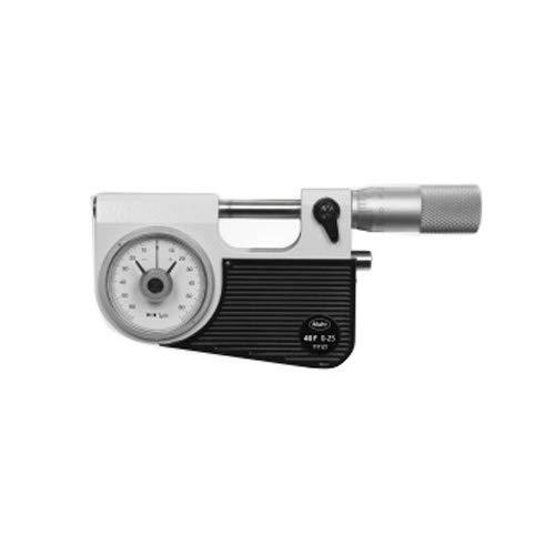 Mahr 4150901 Micromar 40 F Micrometro con comparador de dial integrado, rango de 1-2
