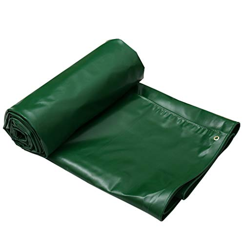 FFF8 Green Outdoor Sunshade Dustproof Waterproof Tarpaulin Car Shed Cloth - UV Protection - Thickness 0.7 Mm, Multi-size Options (Size : 3MX2M)