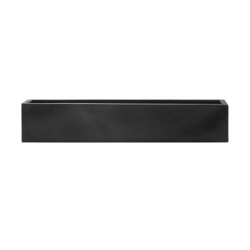 AMEI Pflanzgefäß Der Lange L, schwarz 100x17x15 cm
