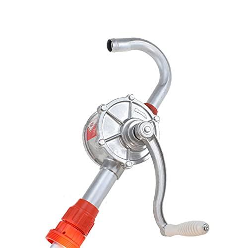 Bomba de aceite de manivela de 25 mm, bomba de aceite de aleación de aluminio, adecuada para diesel, aceite hidráulico, aceite de motor, aceite lubricante, bomba de tambor de mano de metal