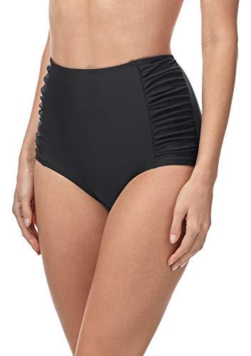 Merry Style Damen Bikinislip MS10-119 Bikinihose Bauch Weg Effekt (Graphite2 (9200), 42)